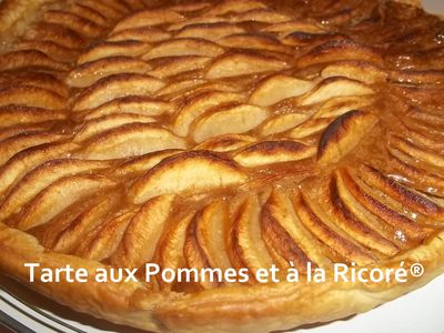 tarte feuillet e aux pommes et la ricor blogs de cuisine. Black Bedroom Furniture Sets. Home Design Ideas