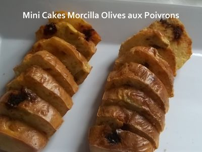 mini cakes morc olives 3