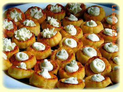 cuillères parmesan boursin