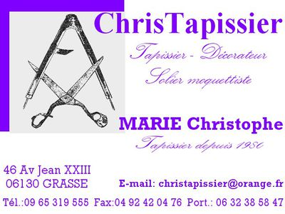 carte de visite blog