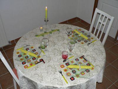 Table Francine & Véronique