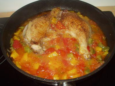Cuisse de canard façon bohémienne (2)