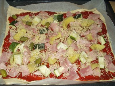 Pizza courgettes (3)