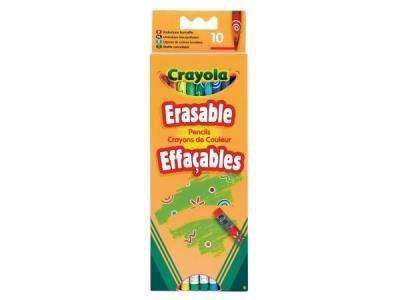 10 cayons de coulerus effaccable crayola