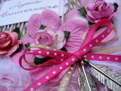 carte + signet rose et kraft (3)