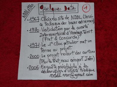 01 - Quelques Dates (1 Recto)