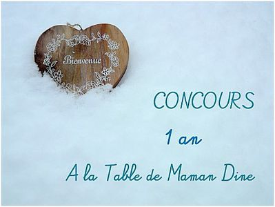 concours-1-an Maman Dine