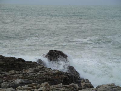29 décembre 2013 : vent et houle à Quiberon