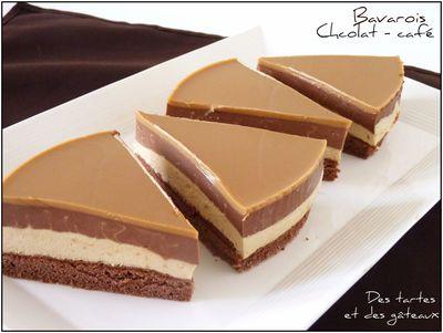 Bavarois chocolat café 1