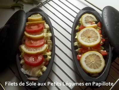 Sole papillote 2