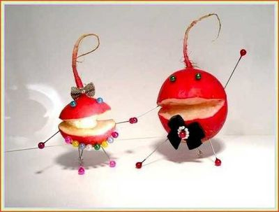 food-art radis dansent