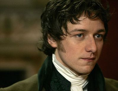 James McAvoy in Becoming Jane