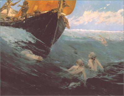 Le rocher aux sirènes- Edward Matthew Hale