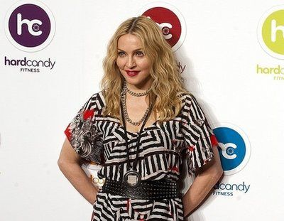 Madonna in Moscow in March-April 2011 to open Hard Candy Fitness club