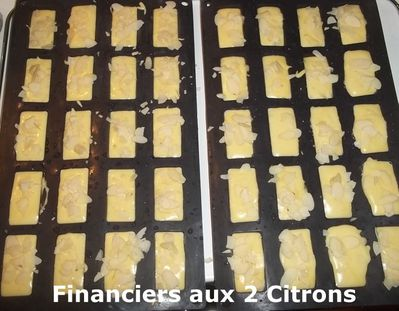 Financiers citrons 2