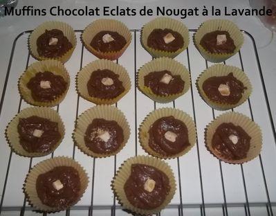 Muffins choco nougat 3