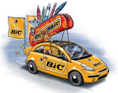 Tour de France 2011 caravane Bic Econobic