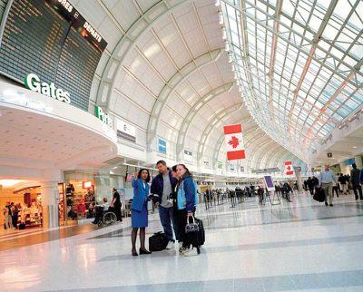 2013-Toronto Airport Arrival