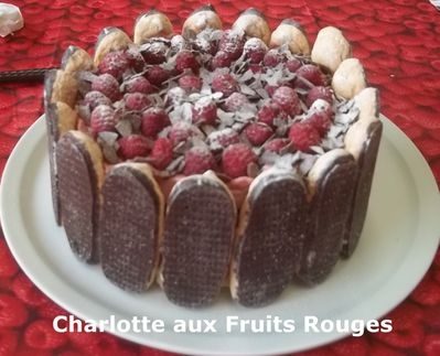 Charlotte fruits rouges 4