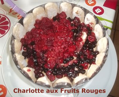 Charlotte fruits rouges 1