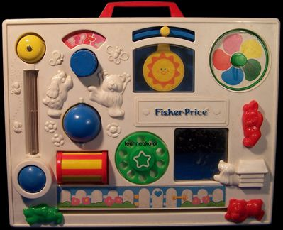 collection Fisher Price vintage Techneekolor