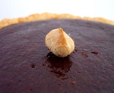 Tarte Chocolat Noir Noisette