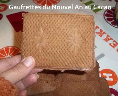 Gaufrettes cacao 1