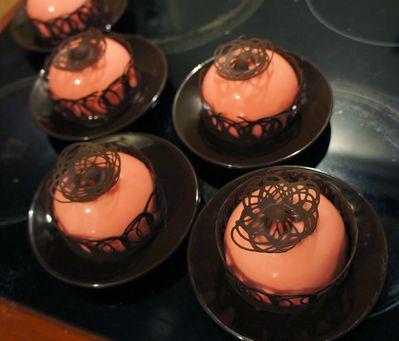 Dômes fraise chocolat blanc (9)