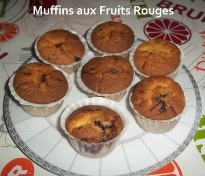 muffins fruits rouges 1