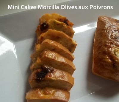 mini cakes morc olives 2