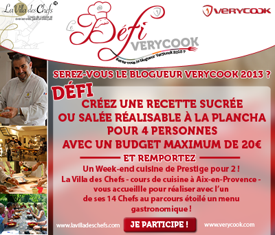 Encart Participant Blogueur VERYCOOK 1
