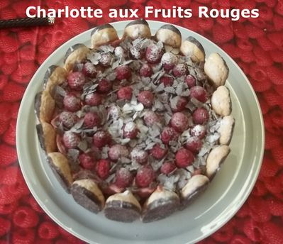 Charlotte fruits rouges 3