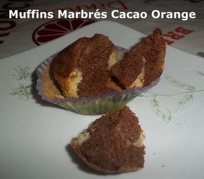 Muffins cacao or 1
