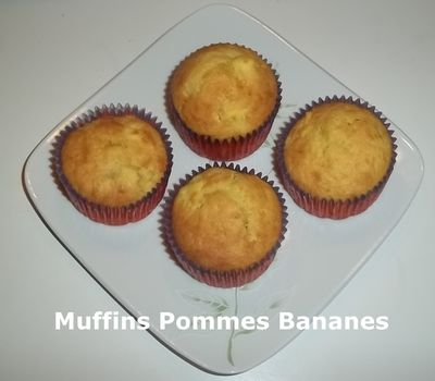 Muffins pommes ban 1