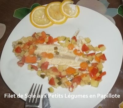 Sole papillote 1