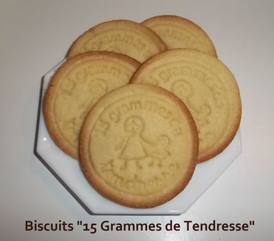 Biscuits 15 grs 1