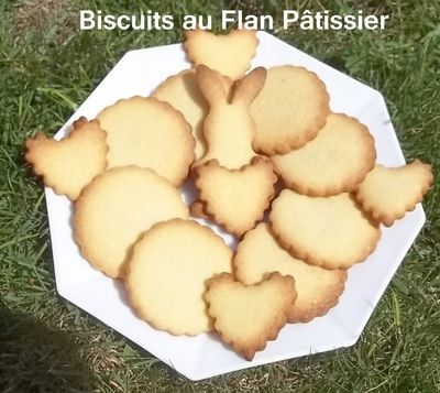 Biscuit flan 1