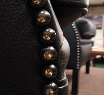 fauteuil club détail cuvette