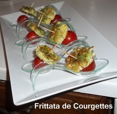Frittata courg 1