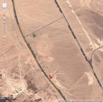 Desert-Google map
