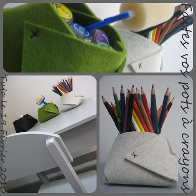 Pot a crayon faire soi - Support bijoux a faire soi meme ...