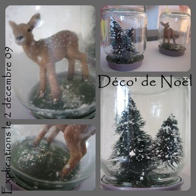 Id es d co 39 no l faire soi m me que cache ma - Decoration de noel a faire soi meme pour enfant ...