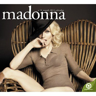 2011 Madonna Calendar available on August 1, 2010