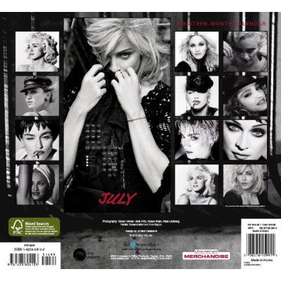 2011 Official Madonna Wall Calendar on August 1, 2010
