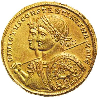 Sol Invictus et Empereur Constantin