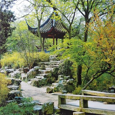 Architecture du jardin chinois jardin de chine for Synonyme de architecture