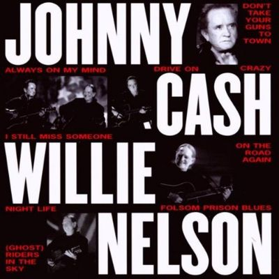 Johnny Cash - Willie Nelson Unplugged