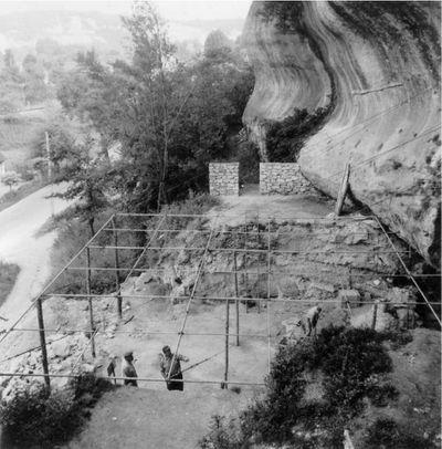 Abri pataud en 1958