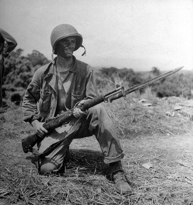 Guadalcanal soldier