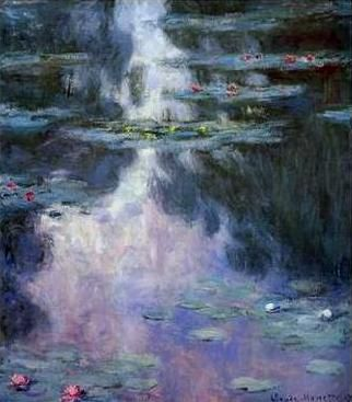 Monet nympheas (2)